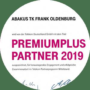 abakusTK ist Telekom PremiumPlus Partner 2019